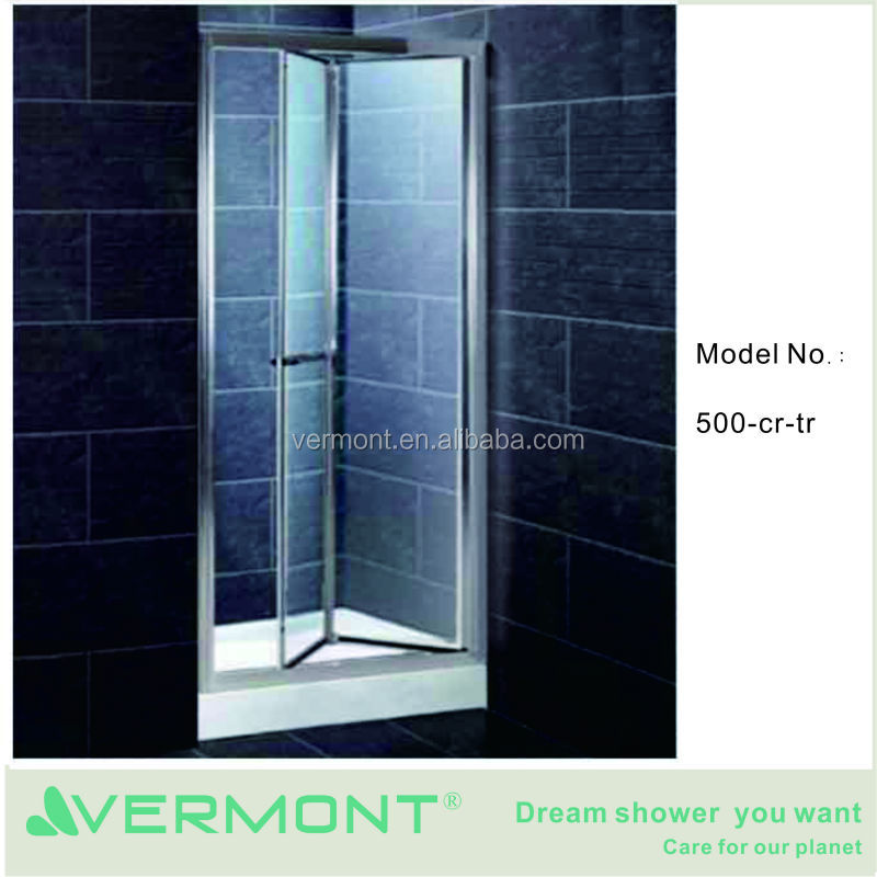 china supplier 6mm-glass shower door without tray