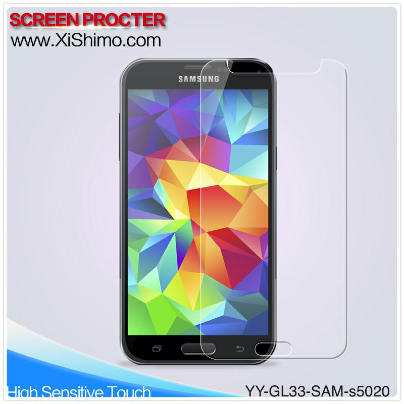Premium cell phone glass shield for Samsung Galaxy S5 with best price