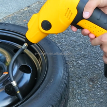 Eco-friendly One Year Warranty cordless rechargeable tyre inflator for car & ball