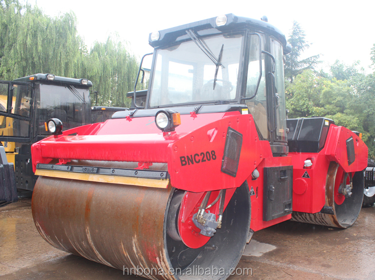 Fork-type Frame Mini Vibrating leaf Hydraulic Compactor