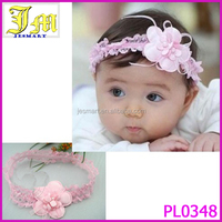 Cute Lovey Baby Pink Flower Headwear Hair Band Infant Toddler Girl Headband 2014