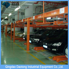 Residential area intelligent hydraulic car parking assist system