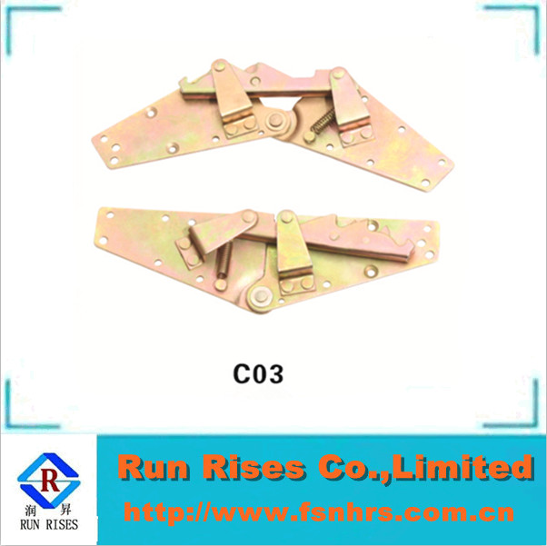 furniture hardware fitting mechanism click clack C03