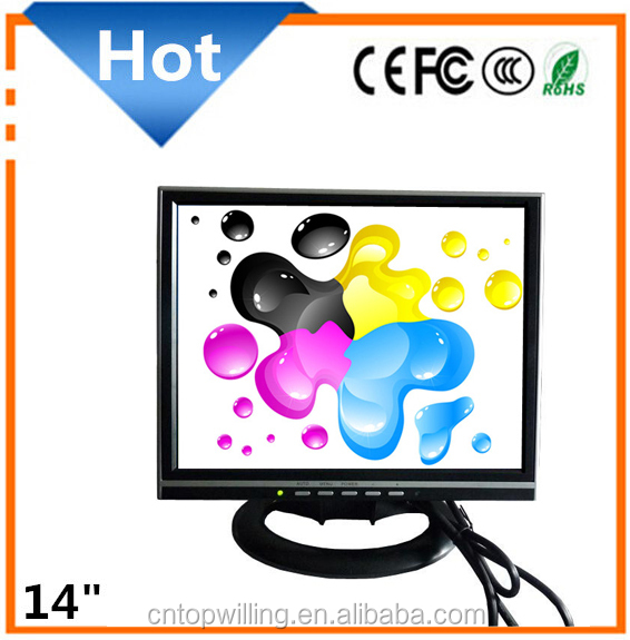 Promotion 14 and 15 inch LCD Monitor for PC/Parking Use/Car