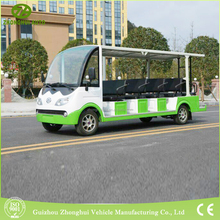 chinese low price adult 14seats electric car
