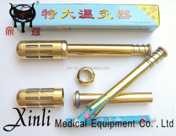 OEM Easy use traditional moxa therapy bar moxibustion device from factory