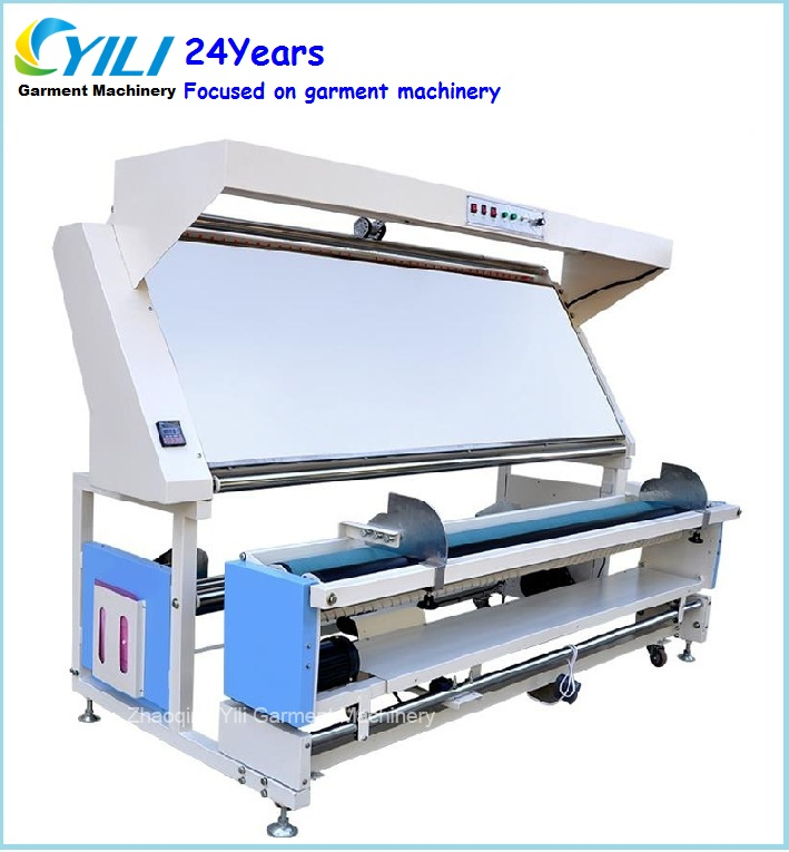 Woven fabric inspection and winding machine/Knitted fabric tensionless inspection machine