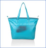 PU leather women tote bags with logo handbags