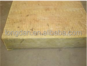 Non-asbestos Fireproof Thick 50mm Insulation Rock Wool with High Strength Roof Insulation Board