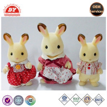 ICTI Manufacturer Sylvanian Family RABBIT FAMILY Toy