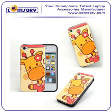 Cute Cartoon Soft Phone Case Cover for iPhone 4 4S small MOQ acceptable