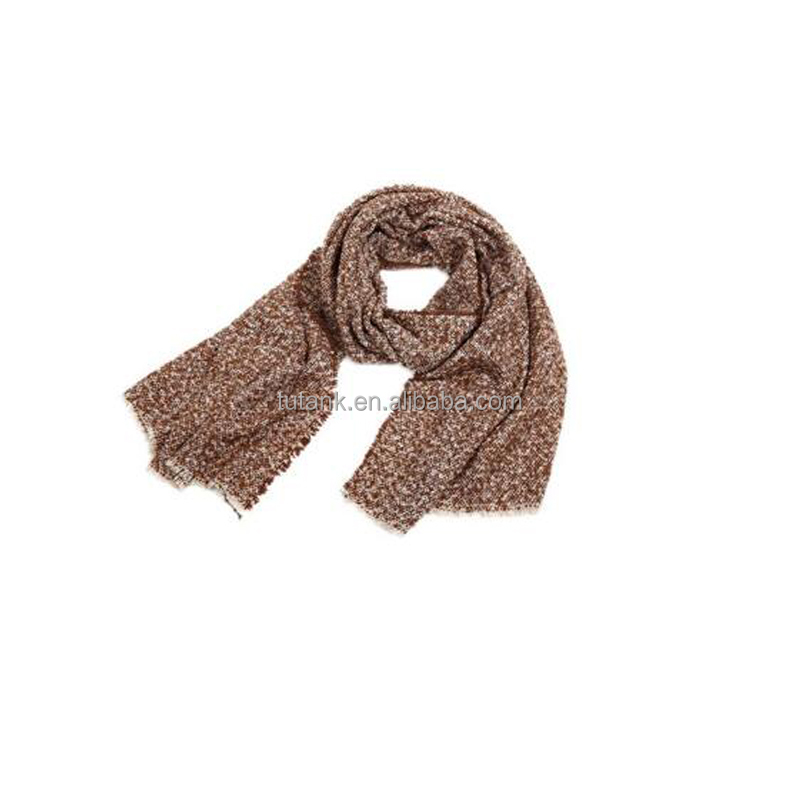 Winter Autumn Fashion Womens Artificial Wool Scarf Wraps