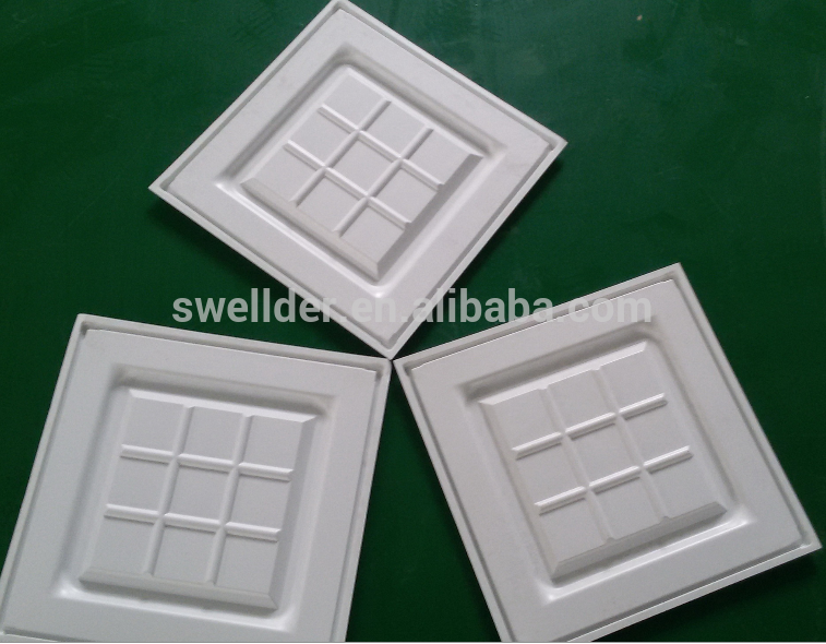 ABS or PS materials white Plastic trays