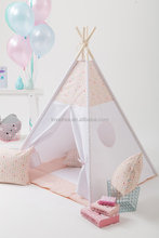LoveTree Soft Pink Styles Play Tent For Kids Baby Teepee Best Gift For Kids