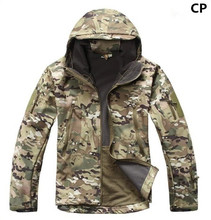 Outdoor Sport Softshell Jackets Men Hiking Hunting Clothes Camouflage Military Tactical Jacket Camping Hunting jacket