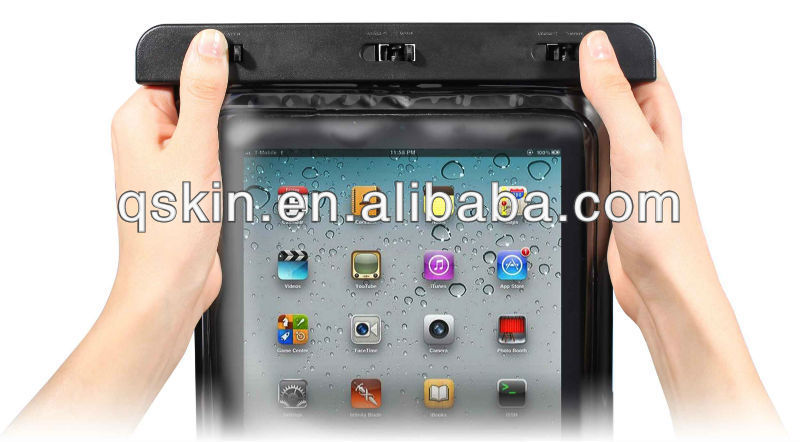 Winter skiting waterproof case for galaxy tab2--SW-102