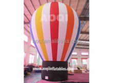 2015 AOQI giant advertising inflatable ground balloon for trade show