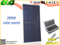 TUV certificate panel 200 watts high quality solar cells