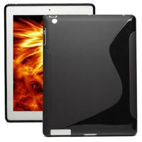 iPad 2 3 4 S TPU GEL Black Case