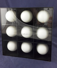 Customized acrylic rugby ball display case