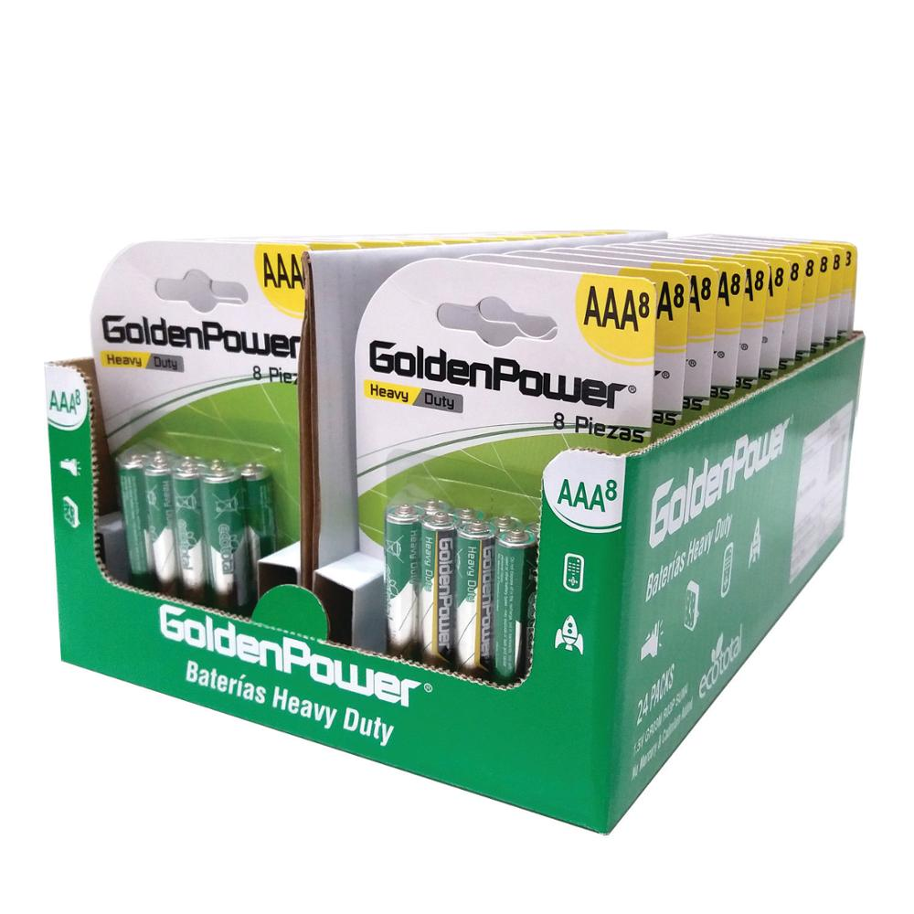 Golden Power Zinc Carbon AAA Battery R03P 24D 28PK