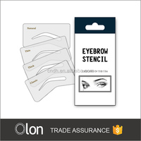 eyebrow shaping stencils