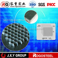 door filling and construction fireproof insulated panel aluminum honeycomb core