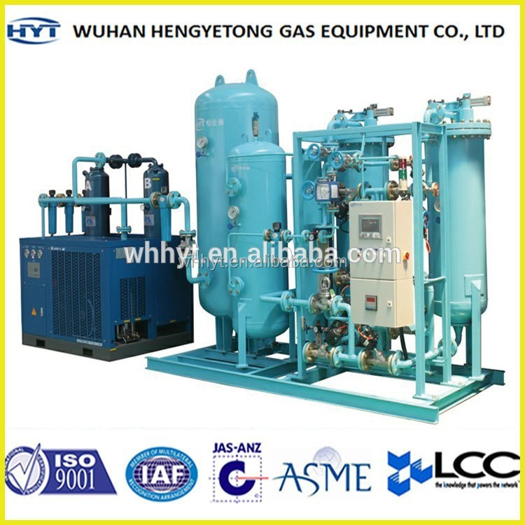 Exported PSA Oxygen Cylinder Filling Machine O2 Generator