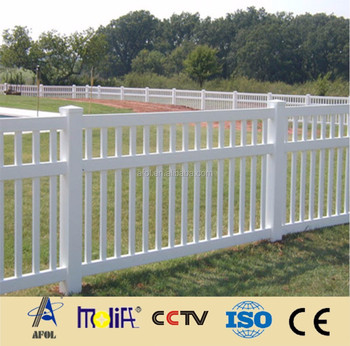 2015 AFOL 100% virgin vinyl material made PVC rural fence