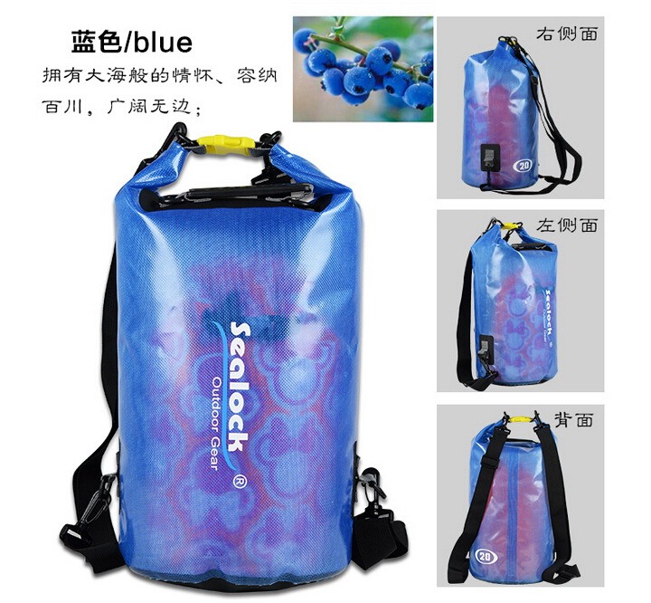 TOP quality Waterproof dry bag PVC tarpaulin for swimming