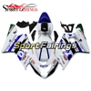 White Blue Injection Fairings For Suzuki GSXR600 750 K5 k4 2004 2005 ABS Plastic Complete Motorcycle Fairing Kit