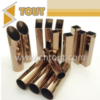 SUS 201 316 316L Color Welded Stainless Steel Tube