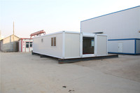 Environmental Prefab Made USA double dog kennel container house