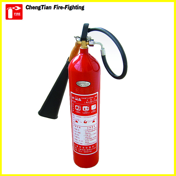 CE Approval Portable Type Alloy Steel CO2 Fire Extinguisher