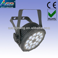 wireless led fla part light,mini led flat par light,mini dmx par led light