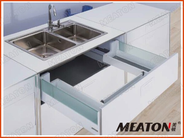 Meaton new style kitchen cabinet metal drawers