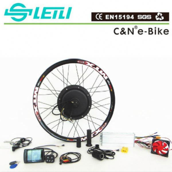 72V 5000W Electric Beach Cruiser Bike kit with the TFT display 2016 ebike