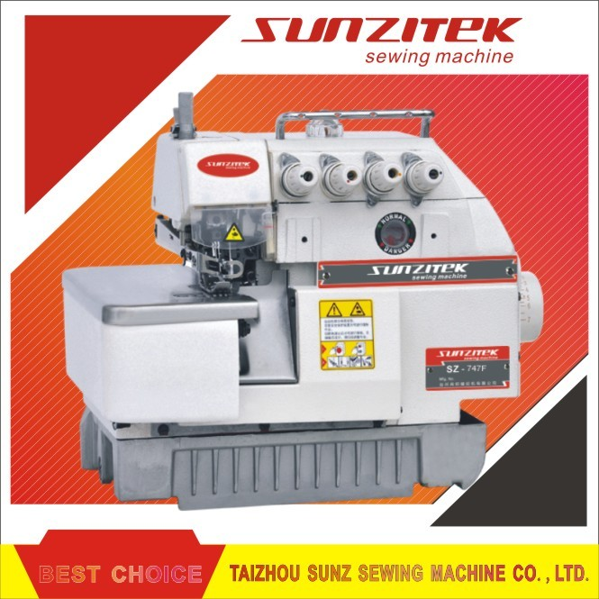 Type siruba sewing machine overlock 747