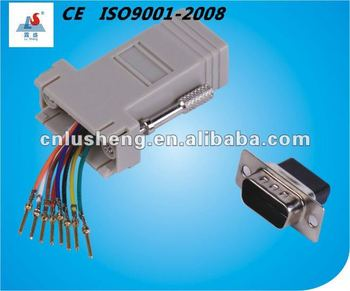 Lsc081a: Db9 Female To Rj45(8p8c) adapter