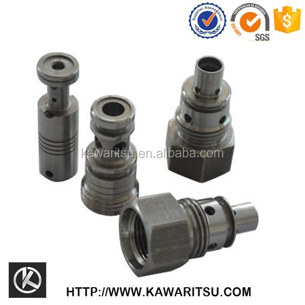 Milling machines cnc 5 axis Precision metal lathe copper /brass cnc cable connector parts