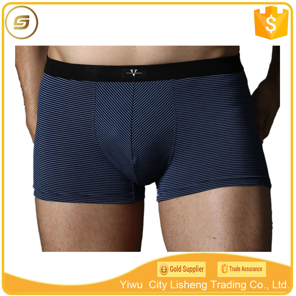 Top quality striped man micro modal underwear