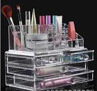 Hot Sell Low Price Clear Acrylic Makeup Organizer With Drawer,Acrylic Cosmetic Organizer,Different Style For Your Choose!