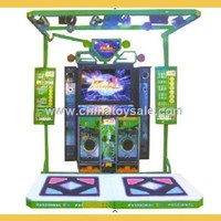 Easy Operation Eco Dancing Machine Game Dance with Joy G5 47""