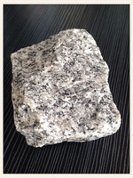 Natural stone G603 granite paving stone, 6 sides natural cube stone