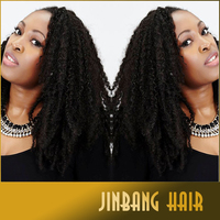 Afro Twist Kinky Marley Braiding Crochet synthetic afro kinky hair extension marley hair braid wholesale price