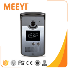 Meeyi Cat5 / 4 Wire Video Door Phone Intercom System For Large Apartment