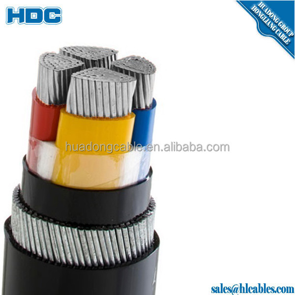 halogen free cables 50cm each 4 x 0,75mm with insulated cable terminals on both ends