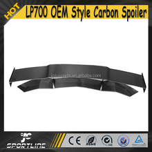Carbon Fiber Auto Car Rear Trunk Spoiler for Lamborghini LP700 2015