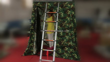Outdoor camping movable changing room/car side awning
