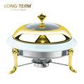 L4107AG Philippines Ceramic Single Bowl Food Warmer Chafing Dish
